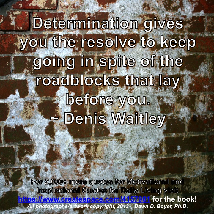 Quote of the Day - Resove